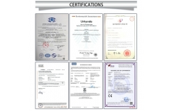 Chine Certifications usine