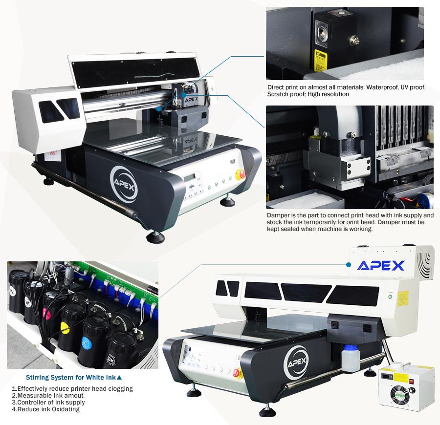 Digital Uv Flatbed Printer Uv6090 Apex Digital Flatbed