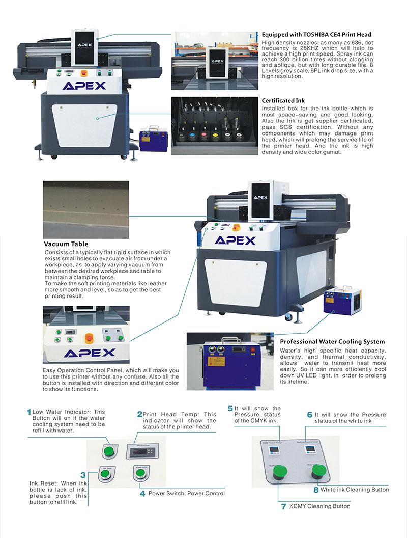 Newest Digital UV Flatbed Printer