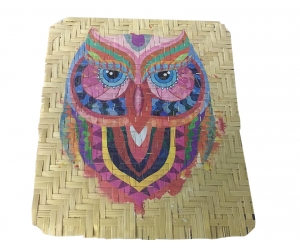 Bamboo Mat UV Prints