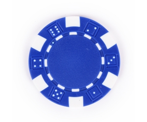Blue Composite 11.5g Poker Chip
