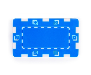 Blue Composite 32g Square Poker Chip