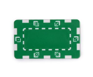 Green Composite 32g Square Poker Chip