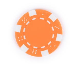 Orange Composite 11.5g Poker Chip