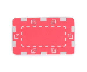 Pink Composite 32g Square Poker Chip