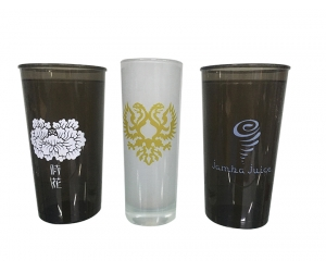 Plastic Cup VS Glass Cup UV Printing