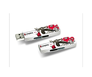 UV Print logo on USB Flash Disk
