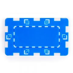 China Blue Composite 32g Square Poker Chip factory