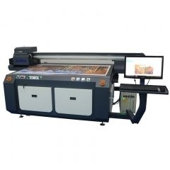 China Digital UV Flatbed Printer UV1610 factory