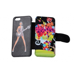 China Leather Case for iPhone 5/5s for UV Printing factory