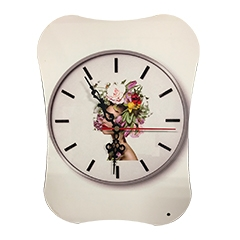 MDF Clock UV Prints