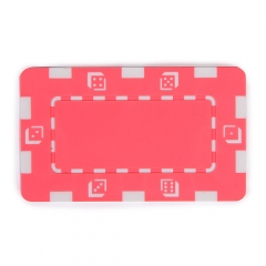 China Pink Composite 32g Square Poker Chip factory