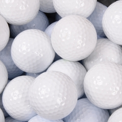 China Plain White Golf Ball factory