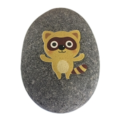 China Small Cute Stone UV Prints factory