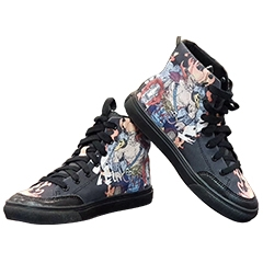 China UV Print Canvas Shoes factory