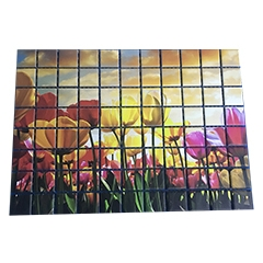 China UV Print on Ceramic Tile Puzzle factory